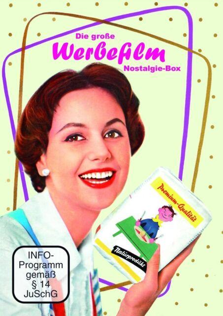 Die große Werbefilm Nostalgiebox - 4 DVD EDITION NEU + OVP!