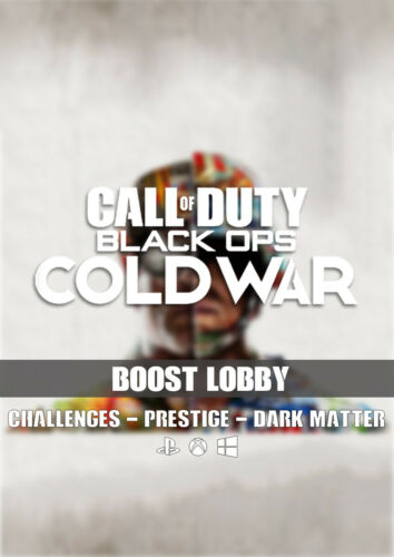 Call of Duty: Black Ops Cold War Prestige Boost Bot Lobby Recovery PS4/PC/XBOX