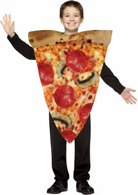 Pizza Slice Child Costume 7-10 For Christmas, Santa & New Year. GC9105](Pizza Baby Costume)