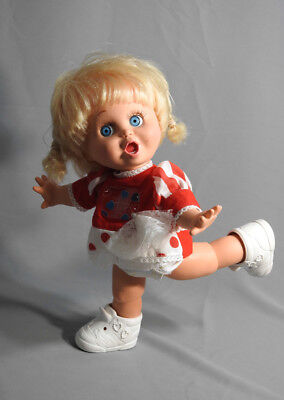 VINTAGE GALOOB BABY FACE DOLL SO SURPRISED SUZIE #2 ORIGINAL OUTFIT for sale  York