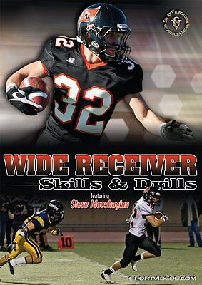 Wide Receiver Skills and Drills - Football Instructional DVD