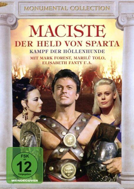 Maciste - Der Held von Sparta Mark Forest, Elisabeth Fanty DVD Neu!