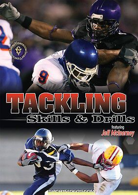 Tackling Skills and Drills - Football Instructional DVD-Free Shipping!
