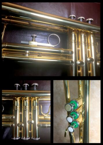 Bach TR600 Aristocrat Bb Trumpet OUTSTANDING CONDITION + Case & 7C Mouthpiece