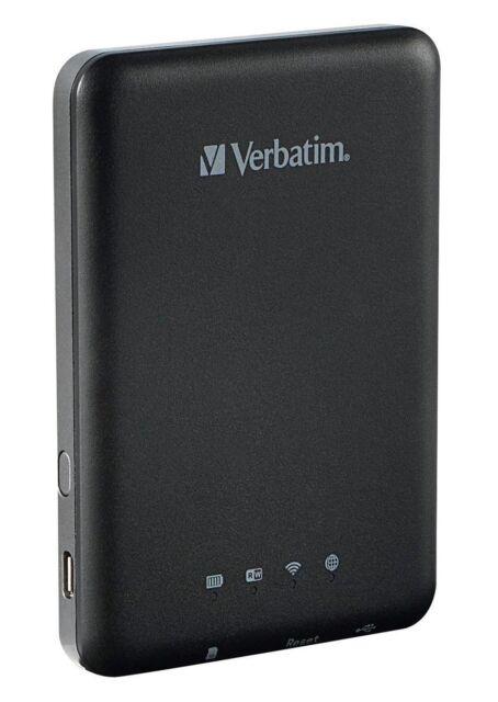 Verbatim MediaShare Wireless Portable Streaming Device (Black)