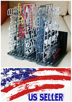 Car Parts - G Temple Gunpla Parts Runner Shelf for Gundam Aircraft Tank Ship Car Model USA