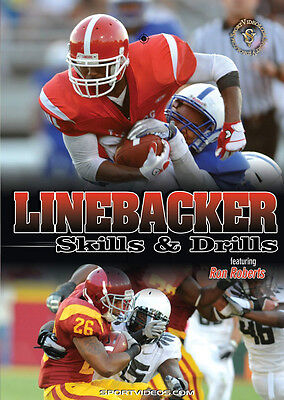 Linebacker Skills and Drills - Football Instructional DVD - Free Shipping