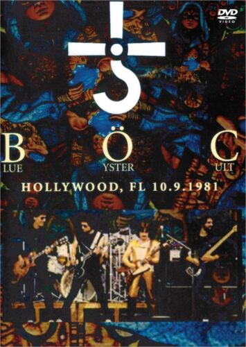 Blue Oyster Cult /  1981 Live in Hollywood Florida DVD