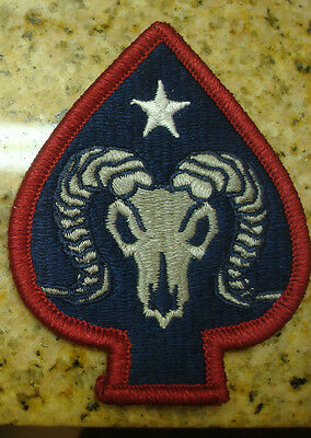 Army Patch,ssi, 17th Sustainment Brigade, Color