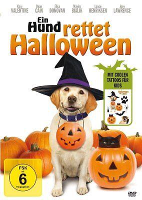 GARY/CAIN - EIN HUND RETTET HALLOWEEN (RE-RELEASE M.TATTOO)   DVD NEW - Halloween Movie Tattoo