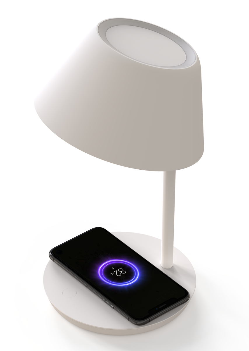 Yeelight - Lampada da Comodino WiFi Staria Wireless Charging 22W 400lm 240V