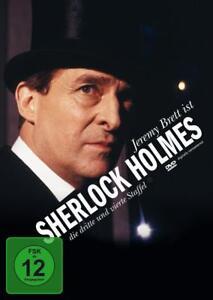 Sherlock Holmes - Staffel 3+4  [4 DVDs]  DVD NEU in Folie (1099)