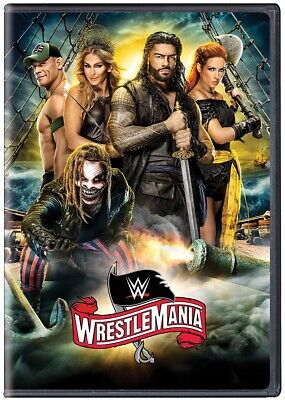 WWE: WrestleMania 36 DVD 2020 BRAND NEW FAST SHIPPING