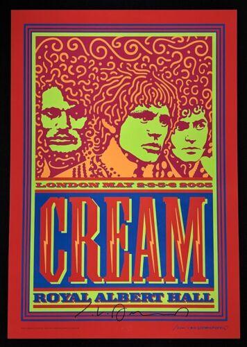 Cream POSTER Royal Albert Hall Signed John Van Hamersveld Original First Print