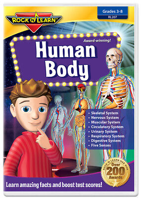 Human Dvd (Human Body DVD by Rock 'N Learn)