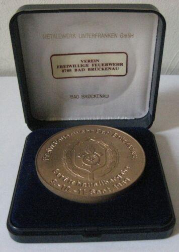 Vintage German Fire Brigade Bad Brückenau 9-10-11. Sept 1989 Coin Medal