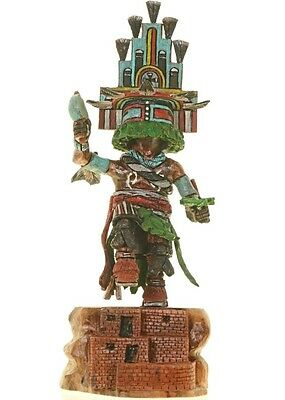 "Hopi Hand Carved 11.75"" HEMIS Kachina Doll Katsina Sculpture by Milton Howard for sale  USA"