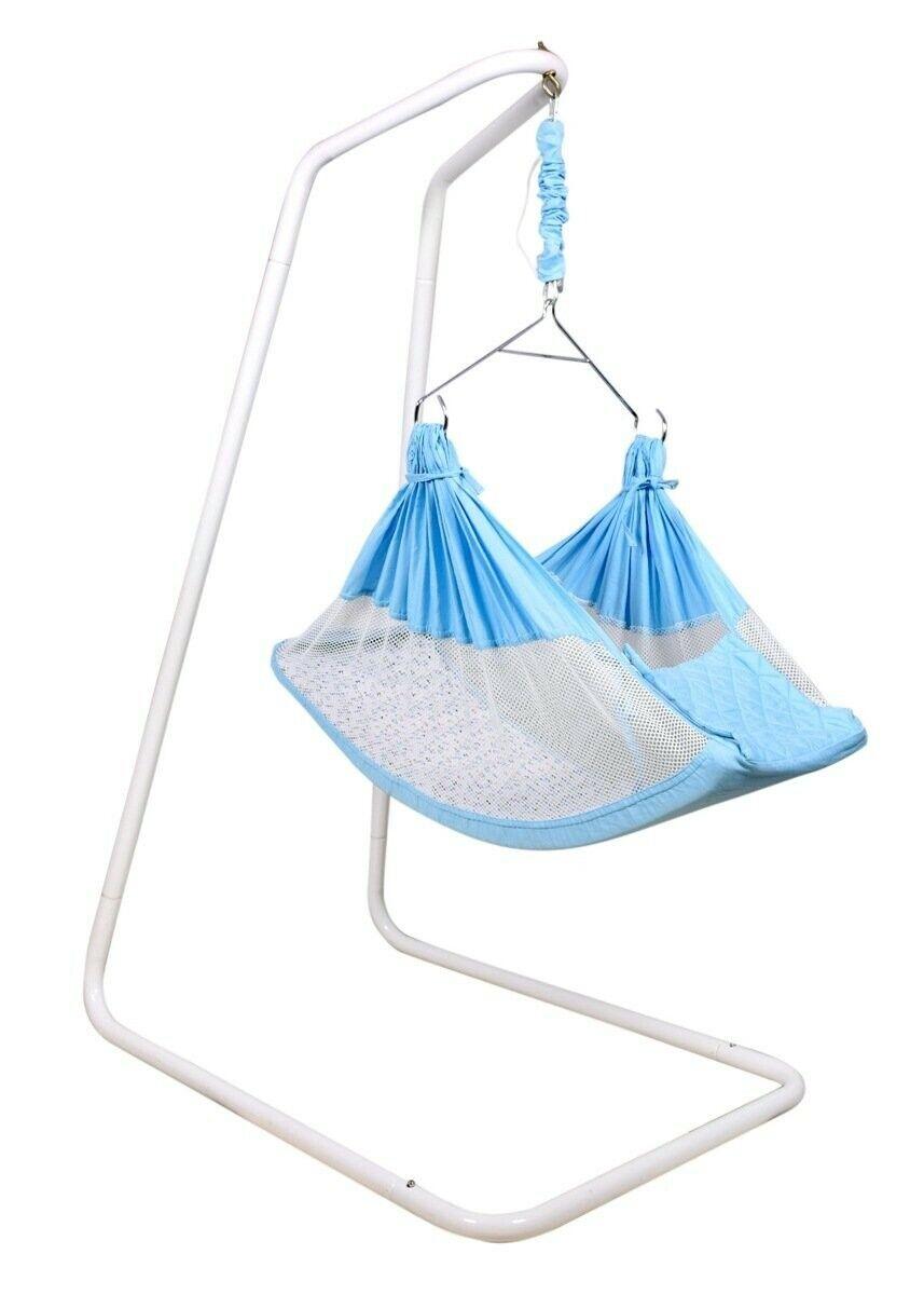 Kidzy King Baby swing hammock-Premium Luxury Baby Cradle f