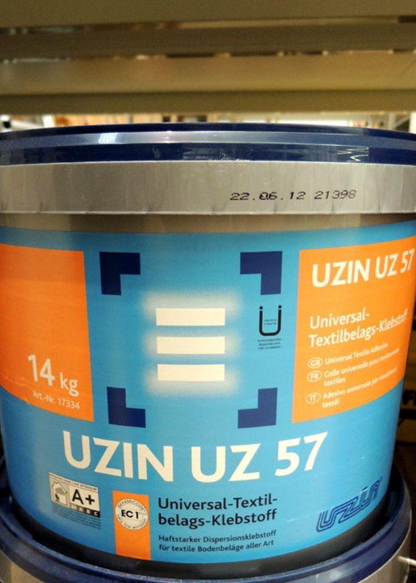 Uzin UZ 57 Universale Pavimentazione tessile Adesivo 14kg di tappeto