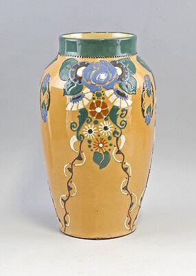 Keramik Vase Jugendstil Bürgel um 1900 25445001