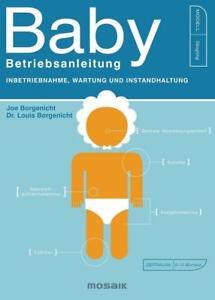 JOE BORGENICHT Baby - Betriebsanleitung sehr gut erhalten