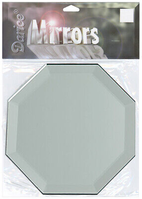 Octagon Mirrors (Darice Octagon Glass Mirror With Bevel Edge 5)