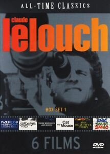 All Time Classics, Claude Lelouch (Box Set 1) Original With English subtitles
