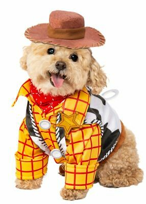 Rubies Disney Toy Story Woody Cowboy Pets Dogs Animals Halloween Costume 200187 (Halloween History Animation)