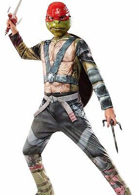 Raphael Costume TMNT Teenage Mutant Ninja Turtles Boys Kids Childs Girls - S M L (Tmnt Girls Kostüme)