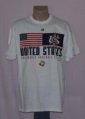 Majestic Team USA 2013 World Baseball Classic T-Shirt 2XL