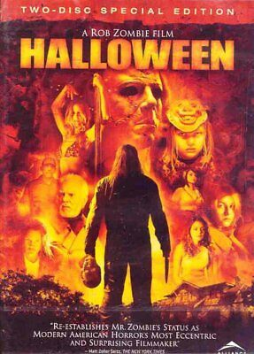 NEW 2DVD HORROR - HALLOWEEN - ROB ZOMBIE - SPECIAL EDITION - Malcolm McDowell, S