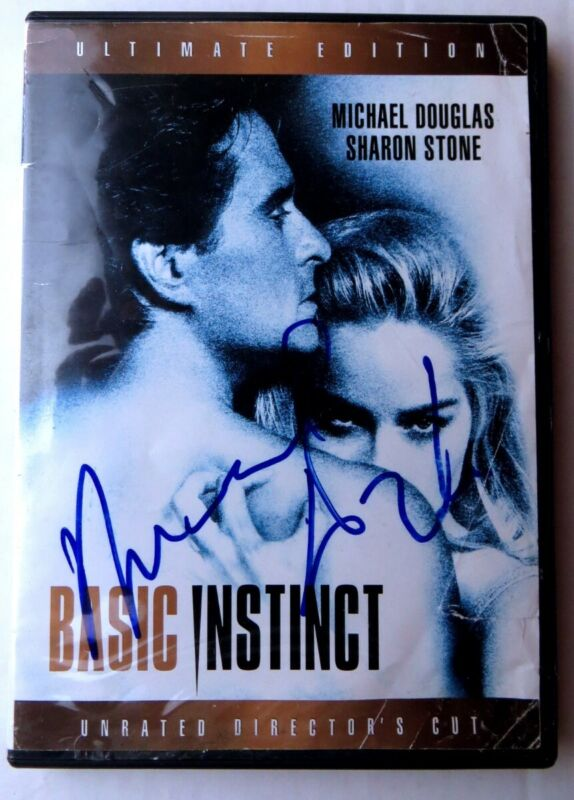 Michael Douglas Signed Autographed DVD Cover Basic Instinct JSA KK78501