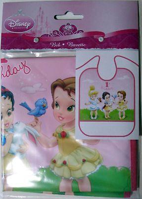 DISNEY BABY PRINCESSES 1ST BIRTHDAY BIB - - Disney Princesses Baby