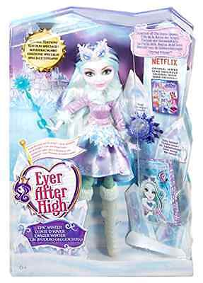 Crystal Winter Doll Ever After High Epic Winter Collectible Character Girl Toys