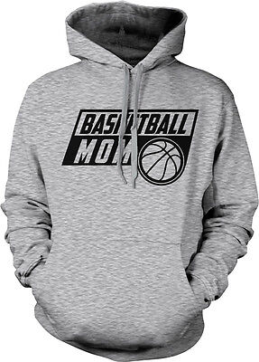 Basketball Mom Mother Parent Team Supporter Son Daughter Child Hoodie Pullover Mom Kids Hoodie