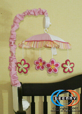 Musical Mobile For Baby Girl Dragonfly  Bedding Set