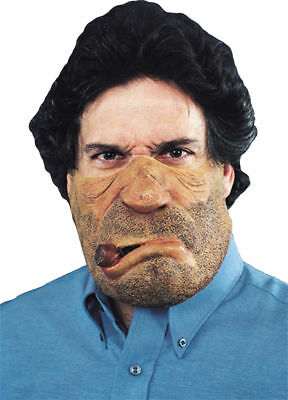 Morris Costumes Freaky Face Old Latex Band Smokey Mask. TM130