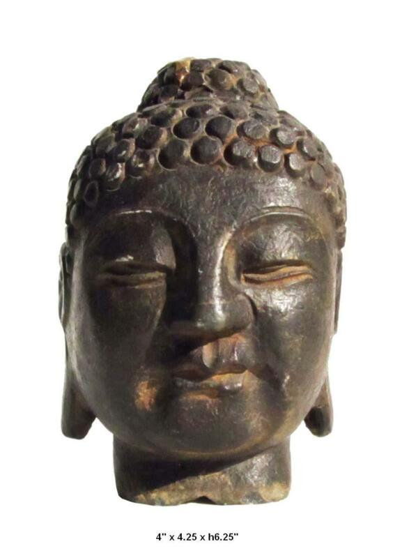 Indian Buddha Statue Head Buddha Head Statue F679