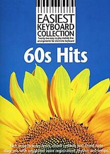 Learn To Play 60s Songs For Easy Keyboard Ideal Beginner Sheet Music Book NEW
