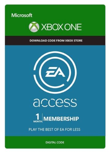 1 month Xbox One 360 EA Access Membership Digital Codes Fast Email Delivery Live