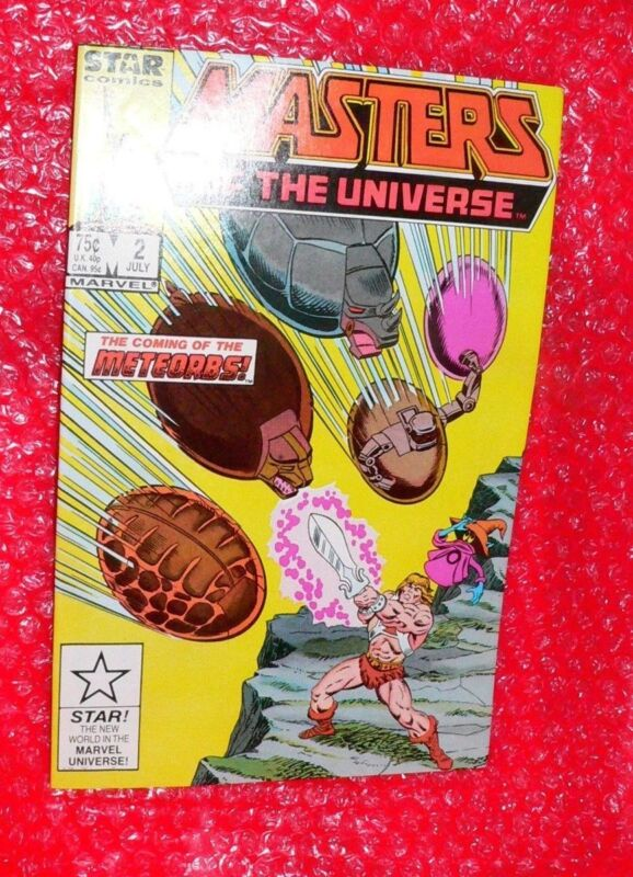 Masters of the Universe #2 comic   1986    d
