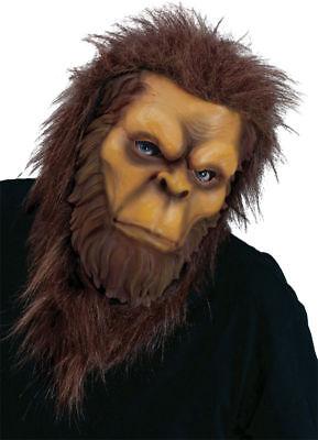 Morris Costumes After Legendary Creature Big Foot Latex Modeled Mask. FW8546BF - Bigfoot Masks