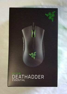 Razer Deathadder Essential Mouse - Black - Brand NEW USA Seller