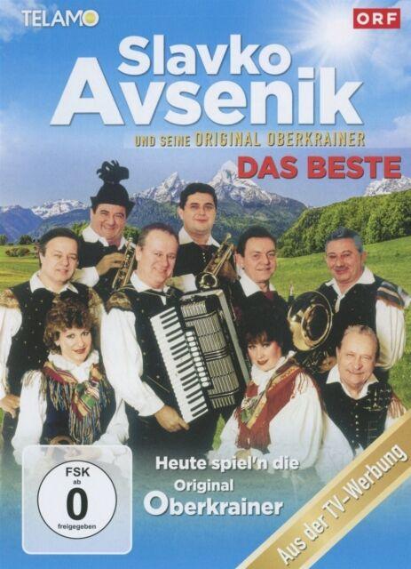 SLAVKO UND SEINE ORIGINAL OBERKRAINER AVSENIK-DAS BESTE-HEUTE.. DVD NEU