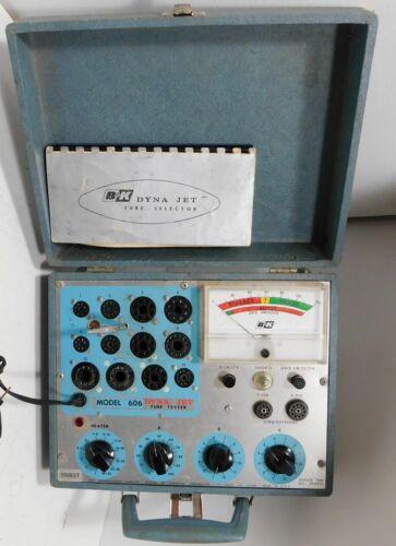 B&K Dynascan Dynajet 606 Tube Tester. Tested, working