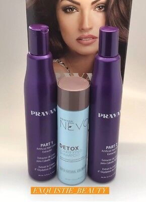 PRAVANA Artificial Hair color Correction extractor, Remover set kit - 1,2 3 for sale  Shipping to India