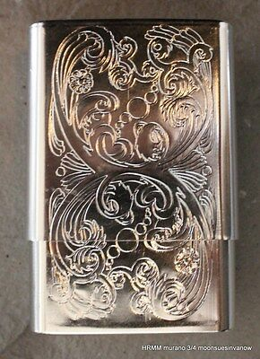 - Cigarette Tin Box Stash Joint Pot Marijuana Case Regulars Wallet Swirl Design-A