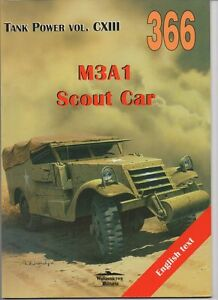 M3A1 Scout Car - Militaria Publishing English !! - <span itemprop=availableAtOrFrom>Reda, Polska</span> - Zwroty są przyjmowane - Reda, Polska