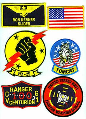 Kostüm Halloween Prop Top Gun Ron Kerner Slider Flight Suit Flieger - Top Gun Flight Kostüm