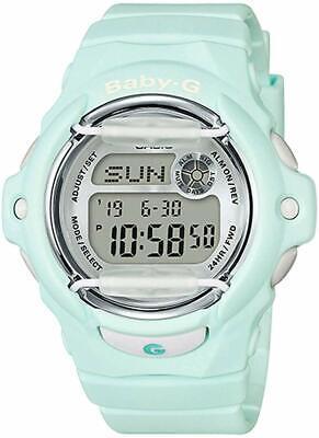 Casio BABY-G SHOCK BG169R-3 World Time Pastel Green Digital 100m Ladies Watch